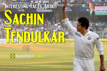 40 Interesting Facts About Sachin Tendulkar