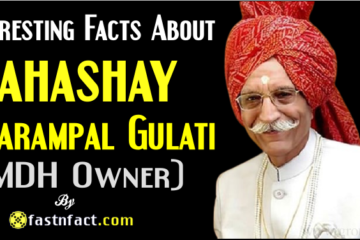 Interesting Facts About MDH Owner Dharampal Gulati