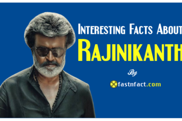 Interesting Facts About Rajinikanth