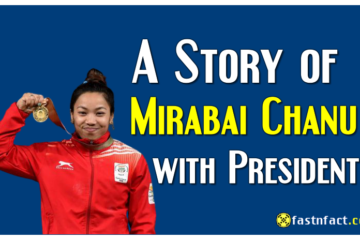 A Story of Mirabai Chanu with President